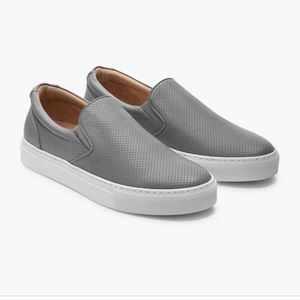 Greats Wooster leather slip on sneakers
